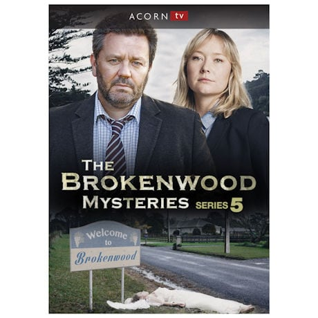 Brokenwood Mysteries Series 5 DVD & Blu Ray