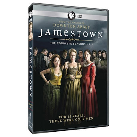 Jamestown Season 1 & 2 DVD