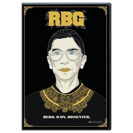 RBG DVD - Ruth Bader Ginsburg - Hero. Icon. Dissenter.