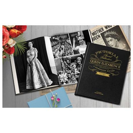Queen Elizabeth II Personalized Pictorial History Hardcover Book