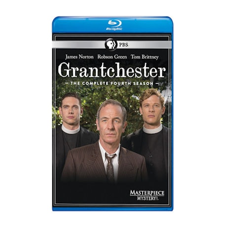Grantchester Season 4 DVD & Blu-Ray