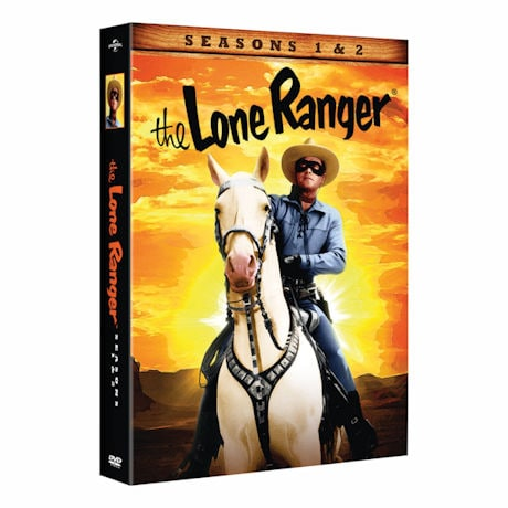 The Lone Ranger: Seasons 1&2 DVD