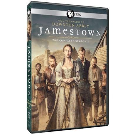 Jamestown Season 3 DVD