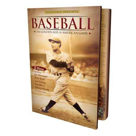 Baseball: The Golden Age of America's Game DVD