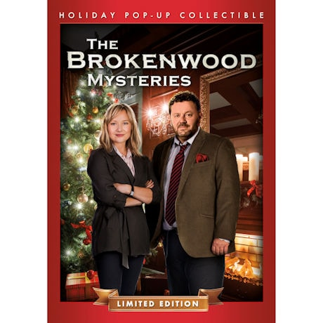 The Brokenwood Mysteries Christmas DVD in Collectible Pop-Up - Limited Edition