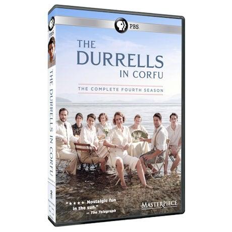 The Durrells in Corfu: Season 4 DVD