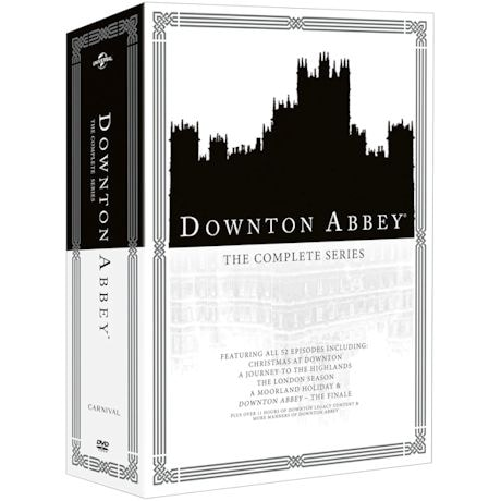 Downton Abbey: The Complete Series DVD