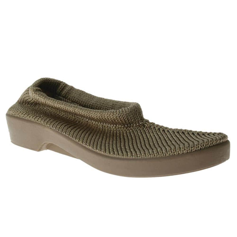 Knitting Slip On Shoes : Spring step tender stretch knit slip on travel shoes ebay