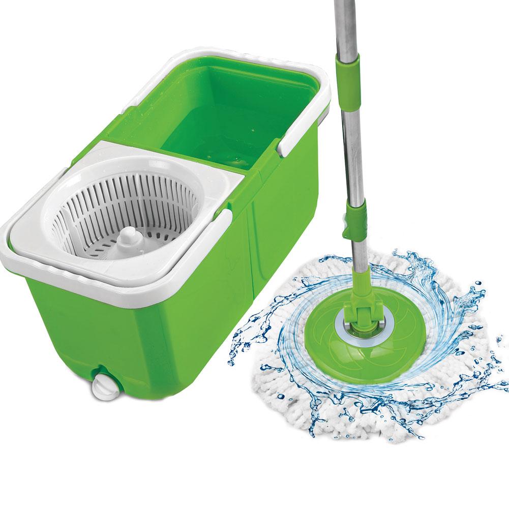 Big Boss Instamop The Spinning Action Mop Green