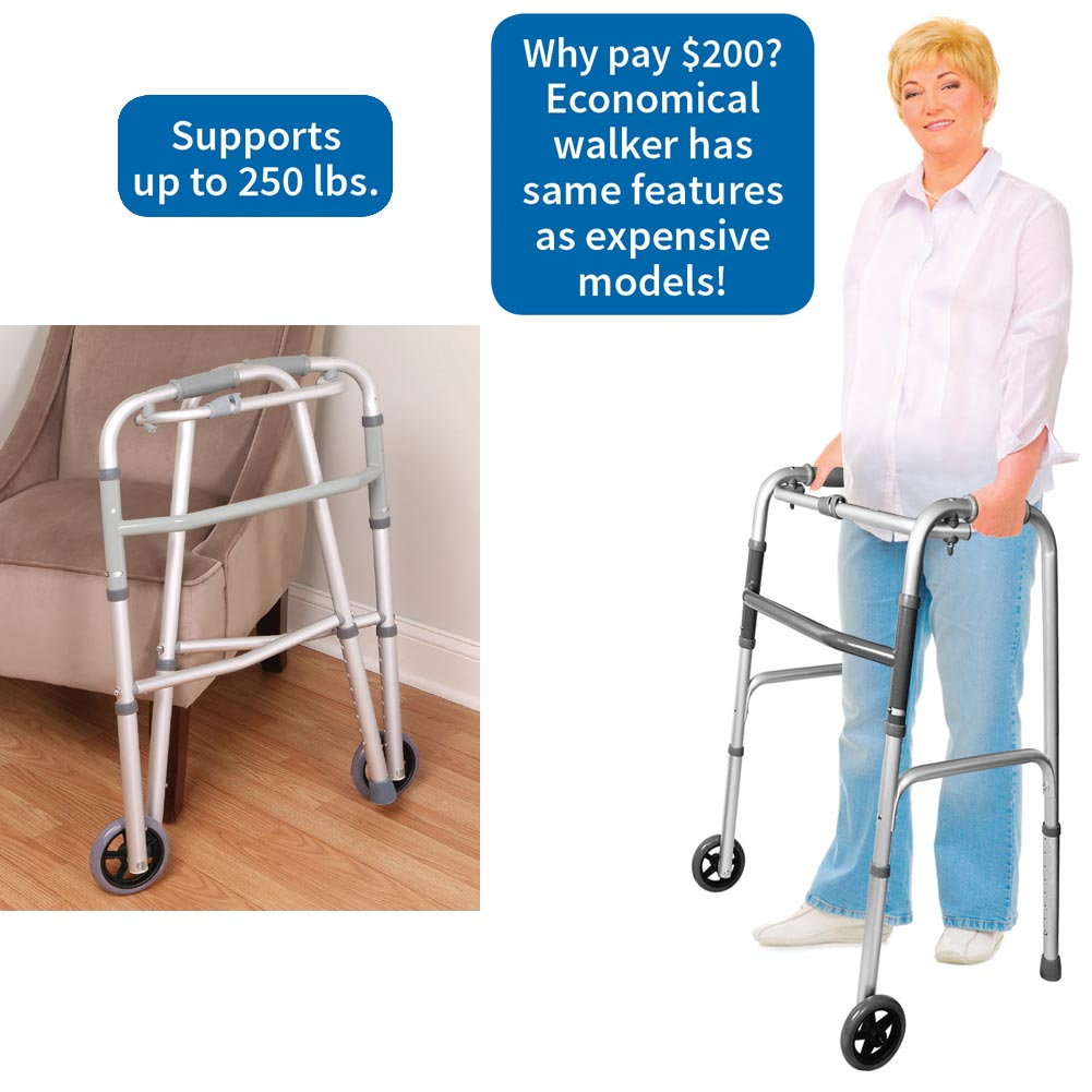 Liteaid, Inc Ez Folding Walker