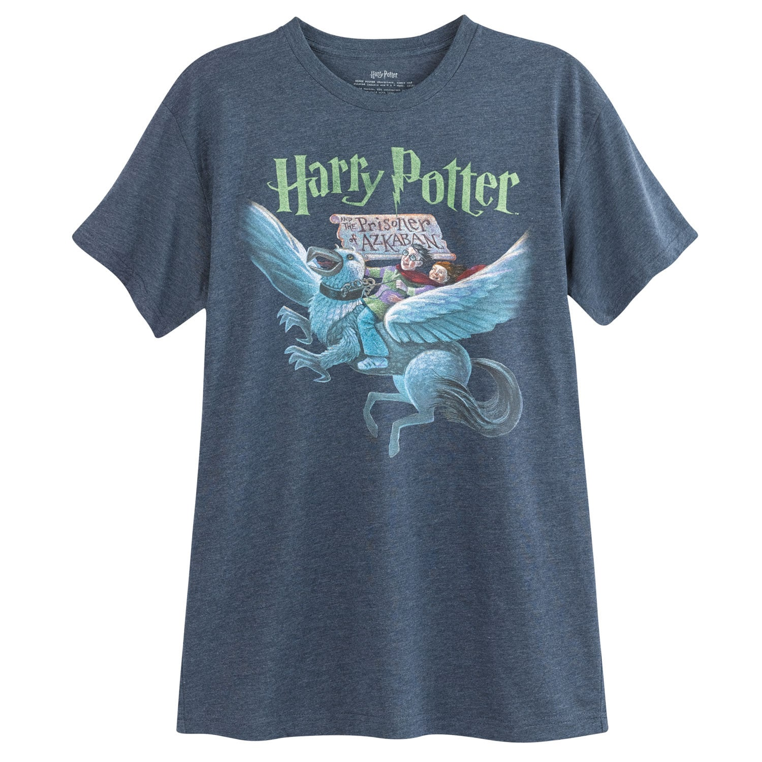 d3b5714e60a Details about Out of Print Unisex Harry Potter and the Prisoner of Azkaban  Book Cover T-Shirt