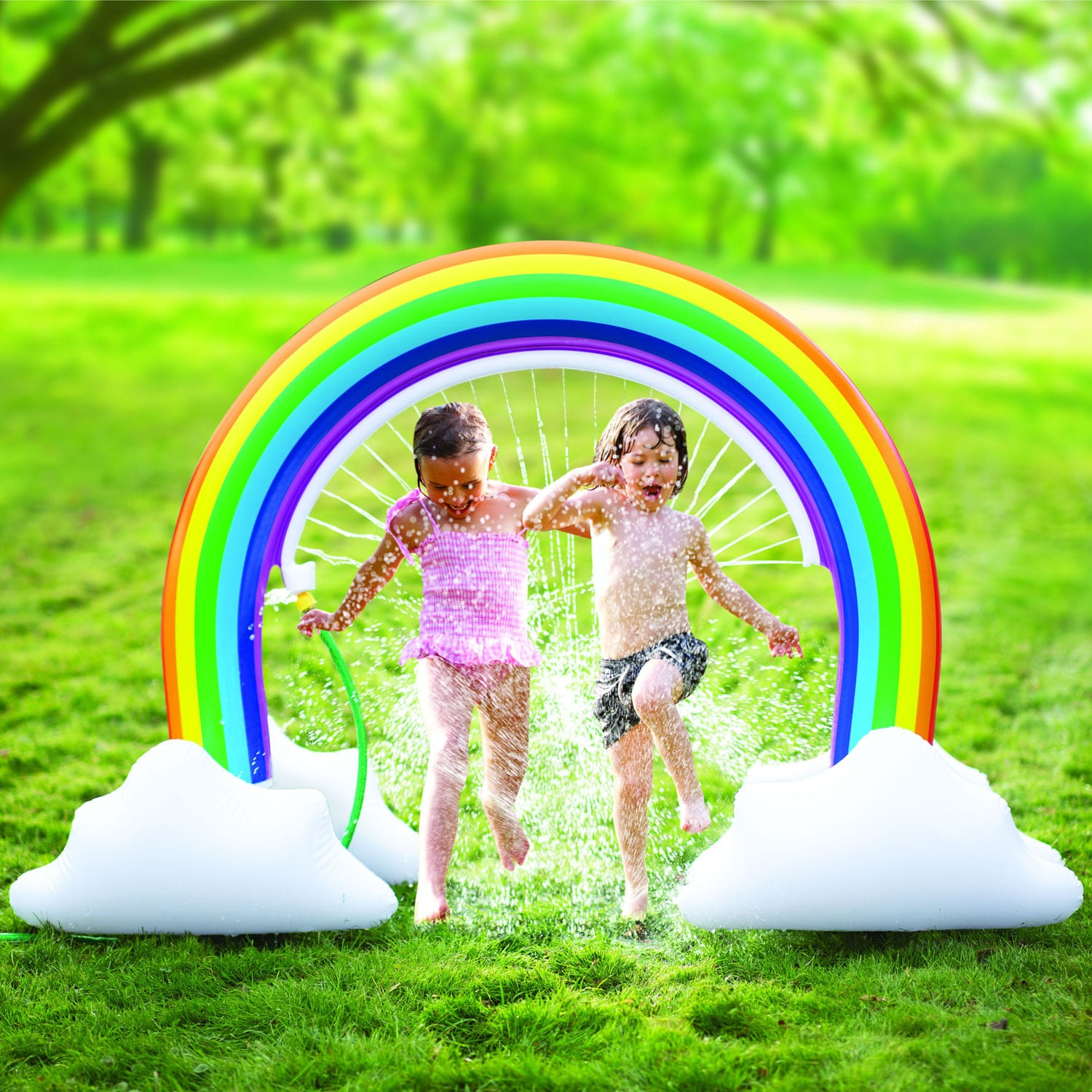 thumbnail 12 - Etna Inflatable Water Sprinklers -Unicorn, Rainbow, Dinosaur Water Toys for Kids